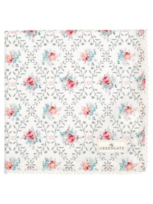 Салфетка Daisy pale grey 40x40 см